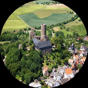 Burg Gleiberg rund