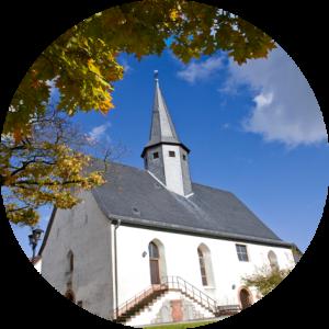 Kirche Krofdorf rund
